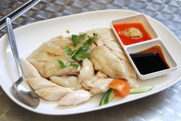 Hainanese Chicken (Click for larger image)