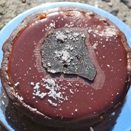 Truffle Salted Caramel and Chocolate Tart
