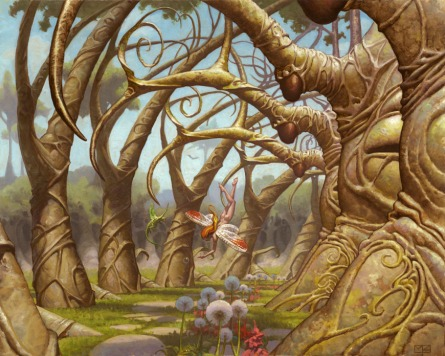 Gaea's Cradle, by Mark Zug