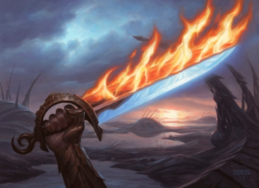 Sword of Fire and Ice, by Chris Rahn